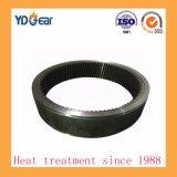 Un anillo interno de las marchas por tratamiento térmico