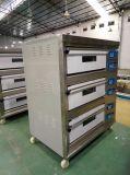 Horno industrial de la hornada del gas (6 bandeja 3-deck) (HGO-60)