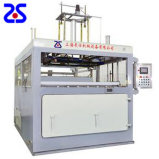 Vide en plastique semi-automatique de Zs-1220 F formant la machine