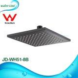 Jd-Wh51-8b Design quadrado preto fosco chuveiro de latão com braço de chuveiro