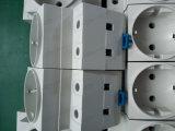 Montage sur rail 35 mm prise modulaire (2) broches rondes