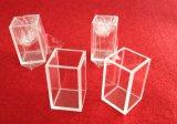 カスタマイズされた4つの側面の明らかに光学キュヴェットの水晶セル