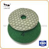 4 Lavagem a almofada de polir diamantes para alvenaria