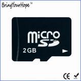 Реальная полная карточка SD Micro Capaciy 2GB высокоскоростная (TF 2GB)