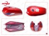 オートバイ125ccの部品のCg125のための赤い燃料タンク