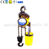 Single chain pneumatics Hoist with pneumatics Trolley for Coal Mines