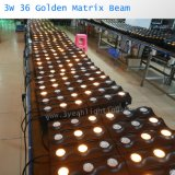 LED-Träger-Wäsche-goldenes Matrix-Licht