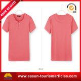 Reforço de nylon do colar do t-shirt da menina da camisa da camisa T de T