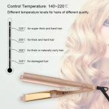 China Professional Steam Hair Straightener Flat Iron Curler with Ce