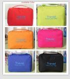 Estilo coreano rasgar la prueba de la bolsa de lavado de plegado multifuncional de viajes Bolsa de maquillaje de gran capacidad (GB#ZM)