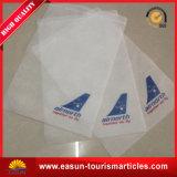 航空会社のヘッドレストカバー製造者の綿のクッションカバーは泡の平面のヘッドレストを飛ばす