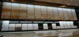 Azulejos de suelo Polished dobles cristalinos de la porcelana del material de construcción del cargamento del color negro