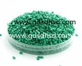 Grüne Farbe Masterbatch mit schwarzem Kohlenstoff-und Kalziumkarbonat