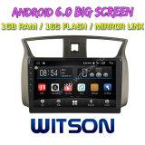 """Grand écran 10,2"""" Witson Android 6.0 Sylphy DVD de voiture pour Nissan (2012 à 2016 Mettre en place pour la voiture avec la caméra arrière)"""