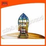 魅力的なデザインロケットのゴムロープの上昇タワー