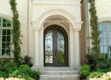 Porta dobro superior personalizada de ferro feito de Rond da entrada