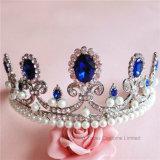 2018 de Aangepaste Bruids Kroon van de Tiara's van de Gift van Kerstmis van het Bergkristal van Stonne van het Glas van het Huwelijk van de Kroon van het Kristal (Cr-03)
