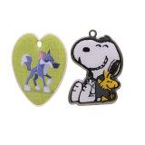 Nom de forme personnalisée de métal blanc Collier pendentif Sublimation vierge Dog Tag