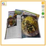 Softcover alta calidad de impresión de libros de cocina
