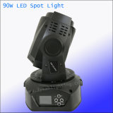 Mini 90W FOCO LED moviendo, Faro