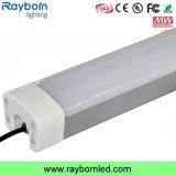 1500mm 60W 80Wは倉庫の照明のためのLEDの三証拠ランプを防水する