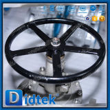 Didtek Wcbのフランジの端はボンネットの端の地球弁をボルトで固定した