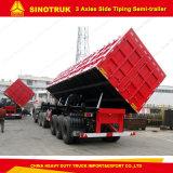 3 Alex Sinotruk Aufbau-hydraulischer seitlicher neigender Kasten-Kipper