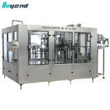 Remplissage automatique de boissons gazeuses et de la ligne de production d'emballage