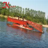 China la última tecnología de malezas acuáticas Draga la cosechadora para la venta