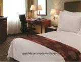 Bedsheets 100% de cinco estrelas do algodão do hotel enormes