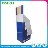 Comercio al por mayor soporte de suelo de seguridad de papel reciclado para rack de pantalla
