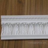 PU-dekorative Blatt-Krone, die für Decken-Dekor Hn-8069 formt