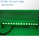 lumière de lavage de 14PCS 30W RVB 3in1 DEL