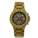 Reloj de madera del diseño encantador 2017 para el hombre y la mujer