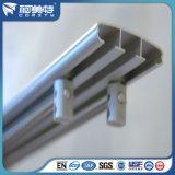Profils en aluminium de type européen de la CE pour le longeron de rideau/pointe/abat-jour