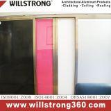 Panneau composé en aluminium pour la façade en aluminium