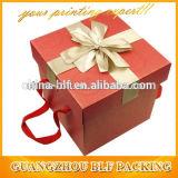 Caisse d'emballage de Customed de papier ondulé avec le traitement