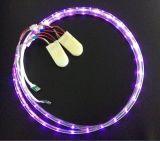 Sapatas instantâneas bateria recarregável do diodo emissor de luz das crianças, cobrar do USB, durando 8 horas, sapatas de couro reais de miúdos