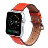 Tira de vigilância de couro para a faixa de relógio da Apple em couro para Apple assistir a banda de couro Iwatch 38/42mm, para a banda de couro