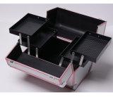Caso cosmético portátil de Multideck da venda direta da fábrica