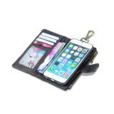 iPhone x를 위한 다기능 & 카드 구멍 가죽 전화 상자