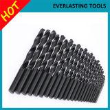 Bits de broca retos pretos da pata das ferramentas de potência do revestimento para o metal