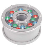 9/6/12 /27W IP68 RGB High Power LED Fountain Lamp