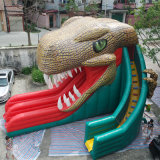 Riesiges kommerzielles aufblasbares Dinosaurier-Plättchen für Miete