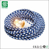 VDE om de TextielDraad Gevlechte Kabel die van de Stof wordt verklaard