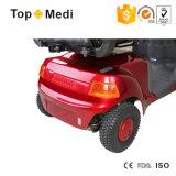 Euro-Typ im Freien behindertes zuverlässiges grosses Rad/fette Gummireifen-Mobilitäts-elektrischer Roller mit Stuhl für Behinderte