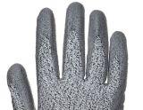 Отрезать 5 черный провод фиолетового цвета для рук покрытие на нейлон/спандекс серый гильзы Защитные перчатки 4543