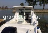 27FT Fibra de barcos de pesca de cabina