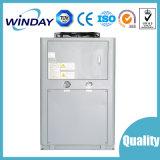 Reparación industrial del refrigerador de agua un trabajo industrial del refrigerador de agua