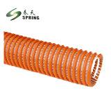 Spirale flexible de décharge hydraulique de l'eau d'aspiration PVC Tuyau flexible aspirateur industriel flexible